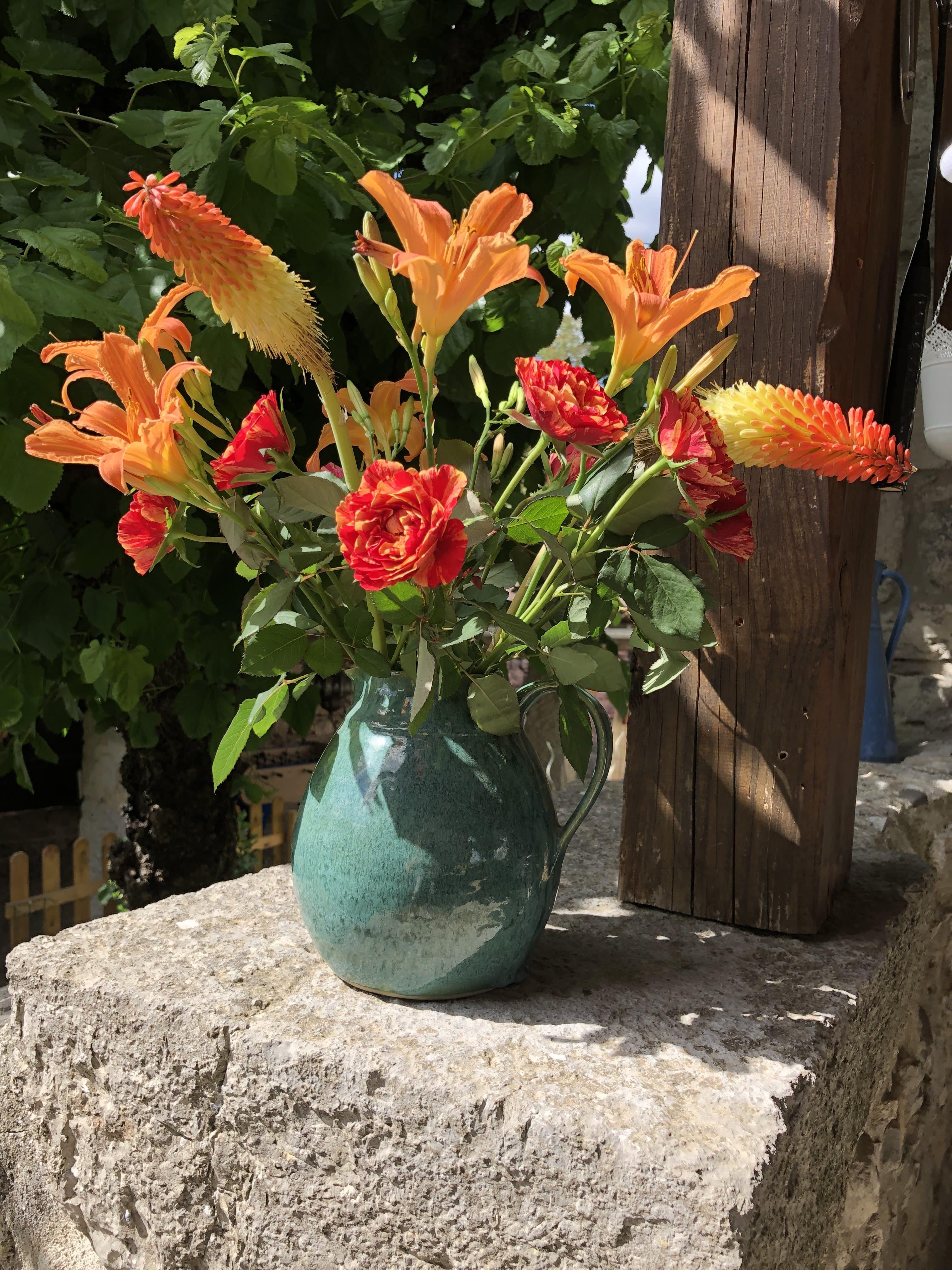 L'Apogée, fleurs du jardin